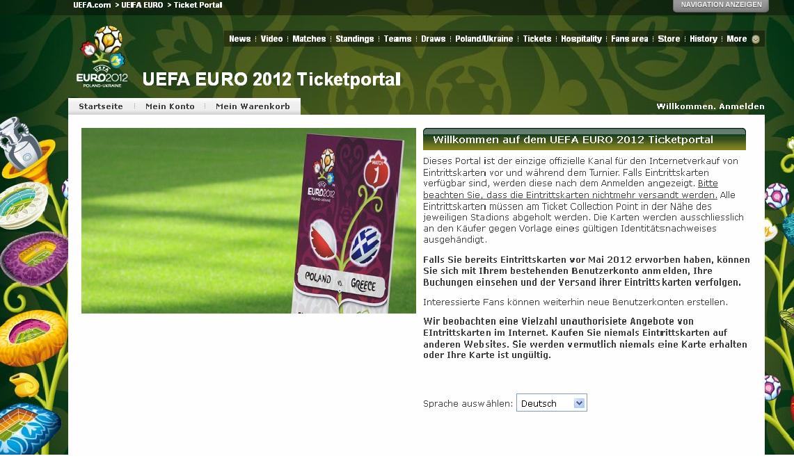 Das Ticket-Monopol der Uefa stößt an seine Grenzen | JP4sport