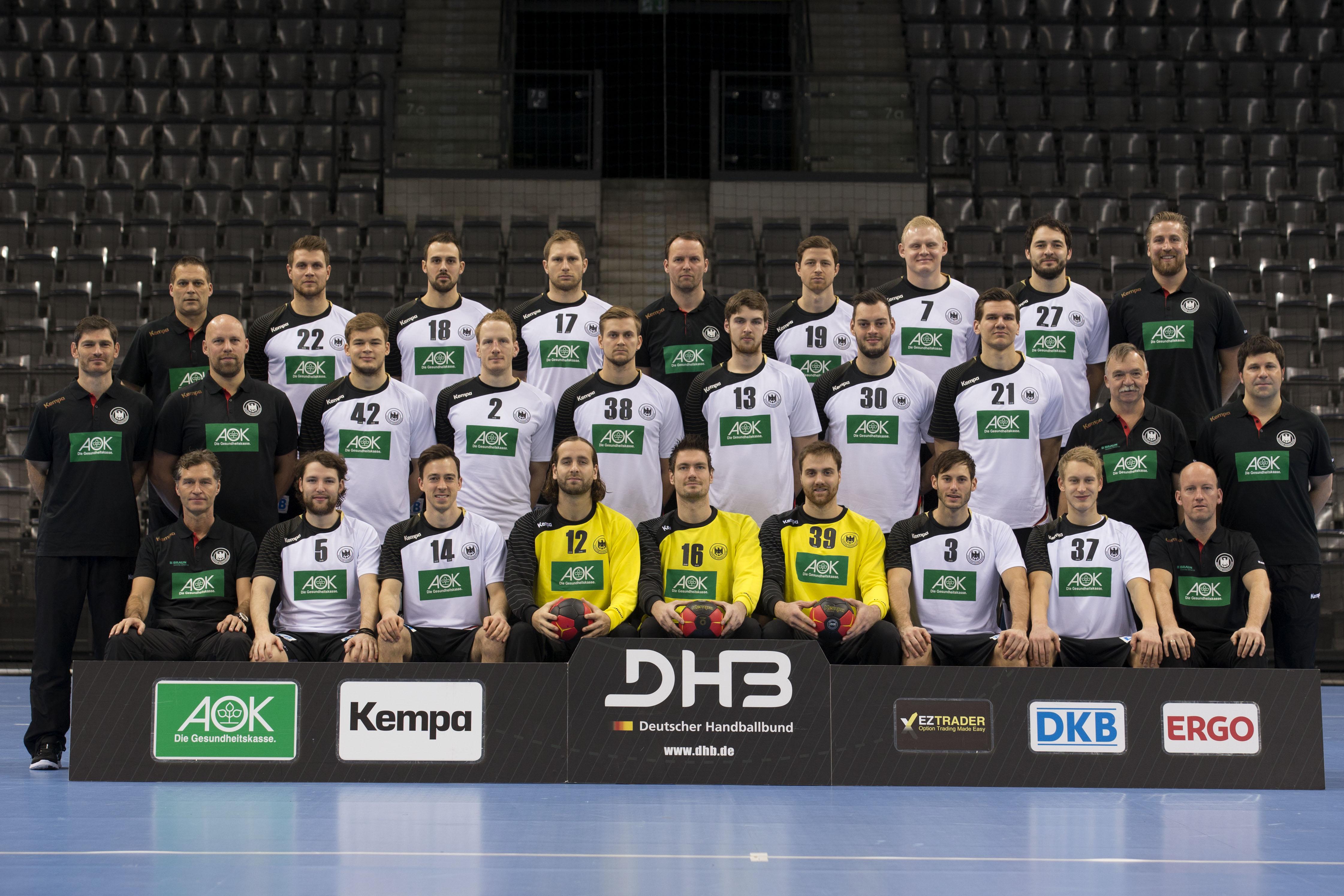 Deutsche Nationalmannschaft Handball